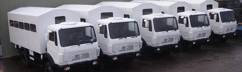 commerce trucks import export des camions militaires pi ces et quipements. Black Bedroom Furniture Sets. Home Design Ideas