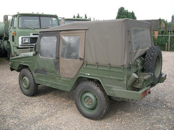 Jeep Volkswagen Iltis - Fahrzeuge - Commerce trucks